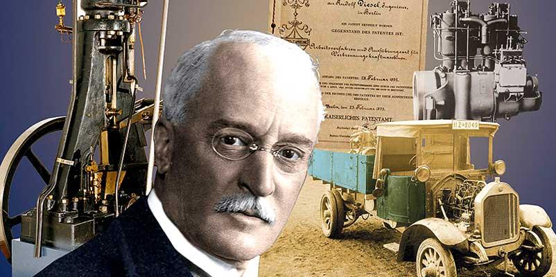 Rudolf Disel - Četvorotaktni dizel SUS motori