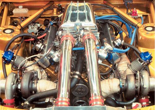Paralelni twin turbo motor