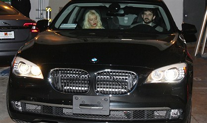 BMW 760i - Kristina Agilera