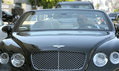 Bentley Continental GTC - Eva Longoria-Parker