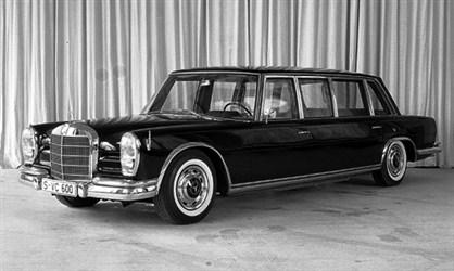Mercedes-Benz 600 Pullman - Čaušesku