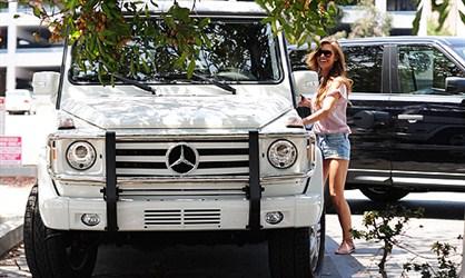 Mercedes-Benz G550 Wagen - Odrina Petridž