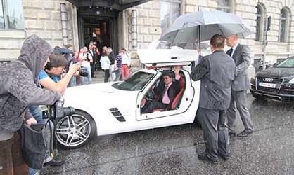 Mercedes-Benz SLS AMG - Silvester Stalone