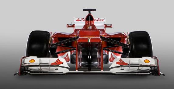 F1 Ferrari 2012