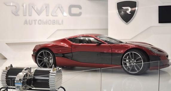 Električni automobil Mate Rimca