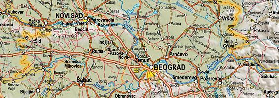 Auto Karta Srbije