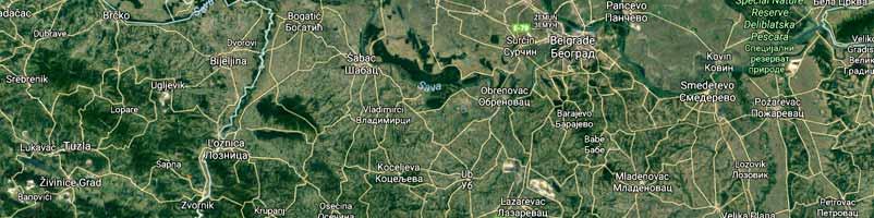 Geografska Mapa Srbije Satelit Superjoden