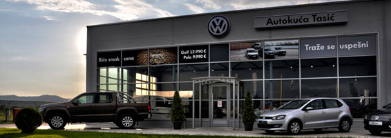 Prodaja automobila Volkswagen: Auto kuća Tasić – Jagodina