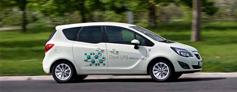 Opel vozila na gas